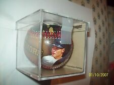 Cleveland Indians Grady Sizemore #24 Baseball N Case-Wounded Warrior Project-NEW