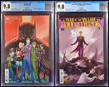 🦇🔥 Batman 89 Hell Arisen 3 CGC 9.8 3rd print set 1st appearance Punchline