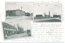 Süderbrarup, m. Hotel Angler Hof u. Colonialwarenhandlung, 1900