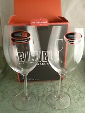 Riedel Cabernet Merlot Wine Glass Set of 2 #6448/0 Crystal Glasses NIB Red NEW