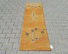 turkish runner,2x7 ft,Turkish Rug,Anatolian Rug,Bohemian,Vintage rug,Oushak Rug