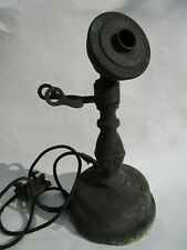 Rare Antique North Electric Co. Potbelly Oil Can Candlestick Telephone Type F