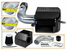 BCP BLACK For 13-19 Scion FR-S BR-Z 86 2.0 H4 COLD SHIELD AIR INTAKE KIT +FILTER