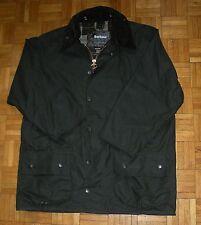 "Barbour Wax Mens Green Beaufort Jacket 42""/107 Tartan Lining Hunting Coat *Mint*"