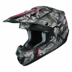 HJC CS-MX2 Motocross Helmet SAPIR DIRT BIKE ATV CSMX CS-MX II MC1SF CAMO