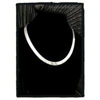 Collier Maille Miroir Large En Argent Massif 925/1000 Bijoux