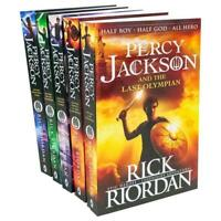 Percy Jackson and the Olympians 5 Children Book Collection Set Series | Rick Rio