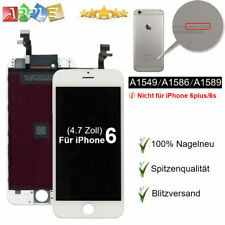"Display für iPhone 6 Retina LCD Touch Screen 4,7"" Ersatzdisplay Glas Weiss DE"