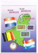 Numisblad Nederland 10 gulden 1994 - 50 jaar Benelux (05)