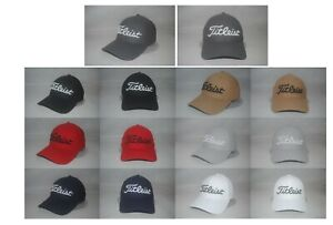 NEW Titleist Doby Tech Cap Trend Collection Curved Brim Golf Hat Various Size