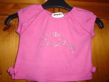 Bébé Filles Cerise Rose à mancherons Little Darling HAUT, SONIA RYKIEL, 3 mois