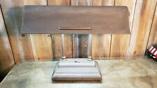 Vintage Industrial Desk Table Piano Bankers Lamp Art Deco Plane Wing