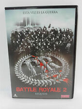 BATTLE ROYALE 2 Requiem DVD Original Accion Asia Kinji Fukasaku