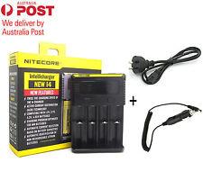 Nitecore i4 Intellicharge Universal Battery Charger RCR123A 26650 18650 AA/AAA