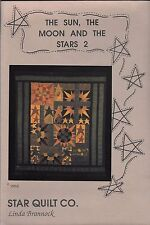 "Quilt Pattern by Star Quilt Company  ""The Sun, The Moon and The Stars 2"