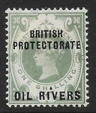 Oil Rivers Protectorate 1892-94 1/- Dull Green SG 6 (Mint)