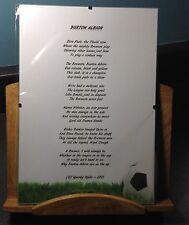 Burton Albion Football Club Original Poetic Gift Framed Unique And Unusual