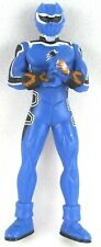 POWER RANGERS Small BLUE Ranger Plastic FIGURE Toy 7 cms