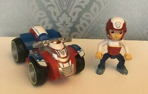 PAW PATROL RYDER POSABLE FIGURE & RYDER' S RESCUE ATV VEHICLE TAKE A LOOK