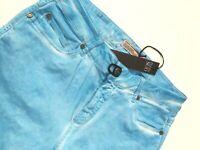 PLEIN SUD Jeanius Jeans azur blue Size 33 NEU - NEW