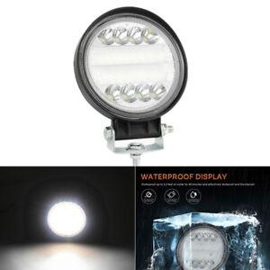 "4"" 300W Round LED Work Light Spot Driving Head Fog Light Offroad Truck ATV 1PCS"