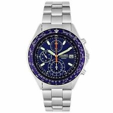 NEW SEIKO SND255P1Men's CHRONOGRAPH,STAINLESS STEEL,100M WR,NEW,SND255