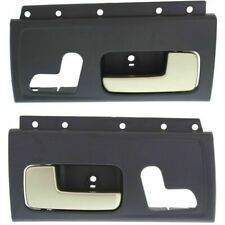New Front Set Of 2 LH & RH Side Interior Chrome Lever Door Handle Fits Town Car