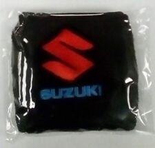 Xmas gift stocking filler Black Suzuki motorbike rider hobby wrist sweatband