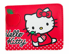 Sanrio HELLO KITTY Business & Credit Card Holder Wallet, mini Album #6 Red