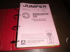 Werkstatthandbuch Citroen Jumper Motor Benzin Diesel