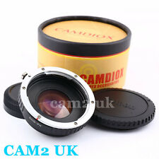 Focal Reducer Speed Booster Adapter Canon EOS EF lens to Fujifilm X Fuji FX  XA2