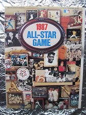 ALL-STAR GAME PROGRAM 1987 MLB Glossy Copy with Tight Spine Vintage Babe Ruth
