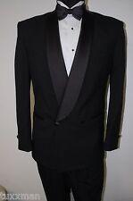 40 S Short Black D.B. Shawl Tuxedo light weight wool Tux formal coat