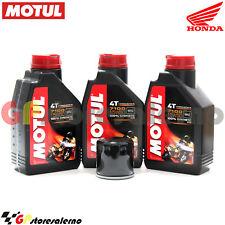 KIT TAGLIANDO OLIO + FILTRO MOTUL 7100 15W50 3L HONDA 700 XL VA TRANSALP 2011