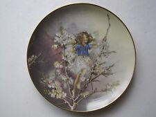 """VILLEROY & BOCH COLLECTORS PLATE """" THE BLACKTHORN FAIRY"""" WITH CERTIFICATE"""