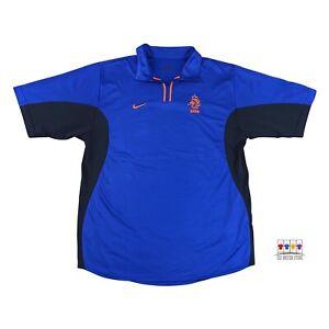 Netherlands 2000/02 International Away Soccer Jersey Large Nike