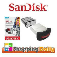 SanDisk Ultra Fit 16GB CZ43 USB 3.0 Flash Pen Drive Memory Stick 16G *AU WTY*