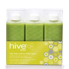HIVE Wax 6 X 80g TEA TREE CREME Roller Wax CARTRIDGE Hair Removal
