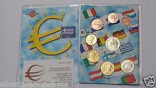 2013 GRECIA 8 monete 3,88 EURO greece grece griechenland Hellas toro bull Греция