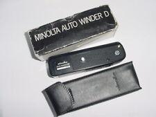 minolta AUTO WINDER D For minolta XD Series