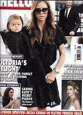 Hello magazine Victoria and David Beckham Kate Middleton Queen Maxima