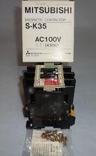 Mitsubishi JEM 1038 Magnetic Contactor S-K35 JEM1038 AC100V NEW