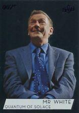 James Bond Collection Parallel Foil Base Card #50 J Christensen as Mr. White