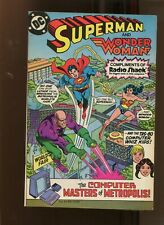 SUPERMAN  COMPLIMENTS OF RADIOSHACK (9.2) CO STARRING WONDER WOMAN! 1982