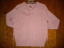 Fashion Nova Size Large Pink Cowl Neck Women Sweater