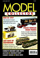 FRENCH POLICE CARS and VANS last 40 years  Model Collector Magazine January 1997