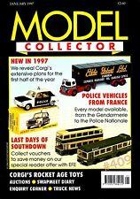 Police Française voitures et fourgons Depuis 40 ans modèle Collector Magazine Janvier 1997