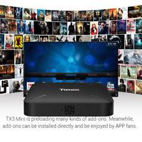 Tanix TX3 Mini L TV Box Quad Core 1.2GHz Android 7.1 2.4G WiFi 4K 1G+8GB EU PLUG