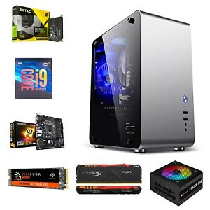Gaming PC i9 9900k Zotac GeForce GTX 1050 Ti 4GB, Seagate 1TB,Gigabyte B365M