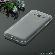 For Samsung J3 2016 Ultra Slim Soft Silicone Rubber  Case TPU Back Cover Skin